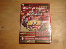 pc cd-rom kit de demarrage world of soccer online (NEUF)