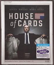 House of Cards Season 1 - Blu-ray + Digital UV TV Shows First BRAND NEW