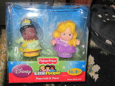 Fisher Price Little People Disney Princess Tiana Frog Rapunzel Tangled Figure
