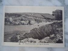 Carte postale la plage de Ramonette à Belle-île-en-Mer