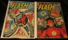 Flash V.1 U-PICK ONE #176,185,187,189 or 196 DC 1968-70 PRICED PER COMIC VG/VG+