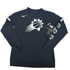 Nike Dry Nba Long Sleeve Shooting Shirt Phoenix Suns Men's Small Cw2265-010