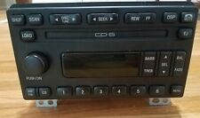 Ford Expedition Explorer Mustang Factory CD-6 Disc Changer CD Player AM/FM Radio