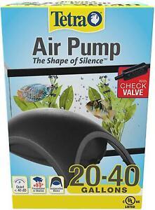 Tetra Whisper Air Pump Aquarium Fish Tank,Quiet & Powerful Airflow 20-40 Gallons