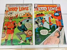 ADVENTURES of JERRY  LEWIS - 5 COMICS LOT
