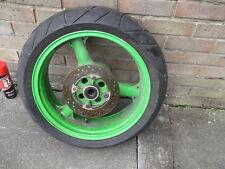 kawasaki zx6r g j rear wheel and disc