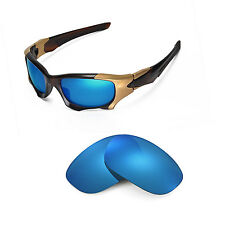 New Walleva Polarized Ice Blue Replacement Lenses For Oakley PIT BOSS II