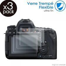 Verre Fléxible Dureté 9H pour Canon IXUS 185 [Pack x3]