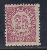 ESPAÑA (1938) NUEVO SIN FIJASELLOS MNH SPAIN - EDIFIL 749 (25 cts) CIFRAS LOTE 1