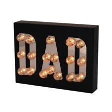 Dad Gift Light Up Nostalgic Style Letters Boxed New X67090