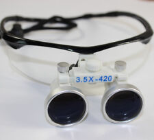 Dental loupes binoculaires 3.5X 420 mm Surgical Binoculaire Grossissement DE HOT