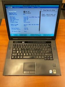 Dell Vostro 1510 Vintage Laptop Core 2 Duo 1.8GHz 2GB RAM No HDD/OS
