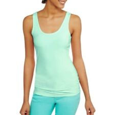 c0570feca4 No Boundaries Women s Juniors Scoop Tank Top Shirt 2xl (19) Mist MINT