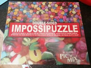 DOUBLE SIDED IMPOSSIPUZZLE WOOLWORTHS PIC N MIX NEW & SEALED JELLIES SMARTIES