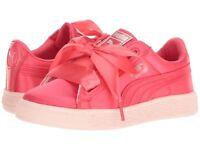 SCARPE PUMA Basket Heart Tween Kids Paradise Pink 365142-01 ROSA BAMBINA ORIGINA