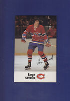 Serge Savard 1988-89 ESSO All-Stars Hockey #25 (NM+)