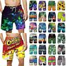 Mens Boys Swimming Beach Board Swim Shorts Trunks Surfing Sports Swimwear Summer