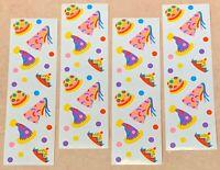 Mrs Grossman's Gigi Sproul Chubby Chimps Scrapbook Sticker LOT 4 Sheets 96ct