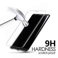 Protector pantalla cristal templado curvo 3D transparente para Samsung Galaxy S8
