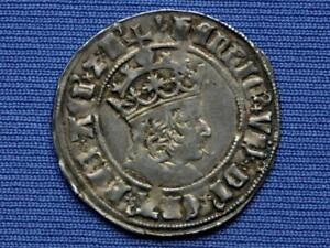 Henry VII Groat - Profile bust issue - mm pheon