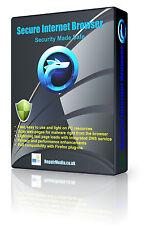 Navigateur internet sécurisée haute sécurité SSL cryptés privé secret DVD sécurisé