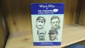 Who's Who of The Yorkshire CCC (2018) Signed by Geoffrey Boycott