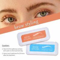 2x Eyebrow Setting & Perming Set Lifting 3D Feathery Keratin Brow Lamination QV