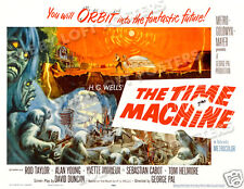 THE TIME MACHINE LOBBY CARD POSTER HS-B 1960 ROD TAYLOR ALAN YOUNG