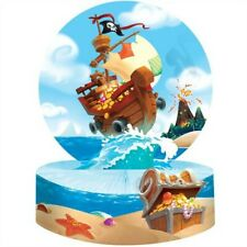 Pirate Treasure Honeycomb Centerpiece Boy Kids Birthday Decorations