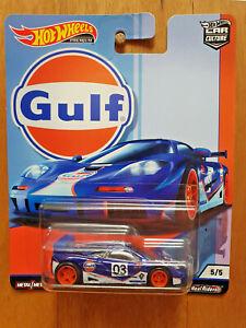 HOT WHEELS CAR CULTURE 2019 G ~ GULF ~ 5/5 McLAREN F1 GTR