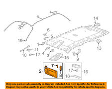 GM OEM Sunvisor-Sun Visor Right 23234082