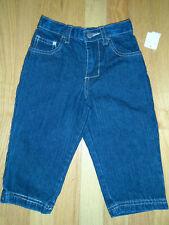 NWT KENNETH COLE REACTION Baby Boys Jeans, size 18 mo,  blue/navy,  100 %cotton