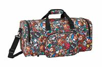 Travel Sports Bag Holdall Gym Weekend Overnight Bag 55 cm Blackfit8 Cool Monkey