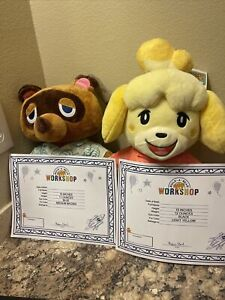 Animal Crossing New Horizons Tom Nook and Isabelle Build a Bear Music New 🔥 🔥