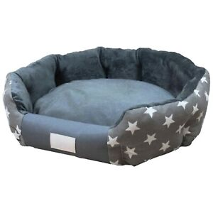 MY GIFT TREE Orthopedic Dog Small Large Soft Lounge Cuddler Beds and Sofa (Grey)
