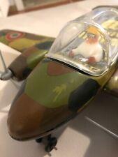 Joustra - aereo giocattolo in latta made in france anni 60 circa