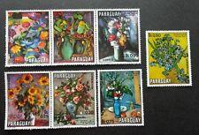 Paraguay Flower Painting 1970 Art Flora Plant (stamp) MNH