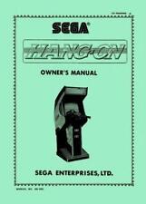 Hang-On Arcade Operations/Service/Repair Manual/HangOn Video Machine Sega Uc