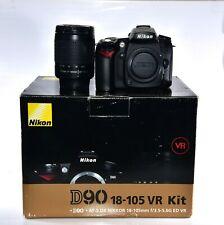 Nikon D90 12.3MP Digital SLR Camera With Nikkor 28-100mm G Zoom Lens Shutter=25k