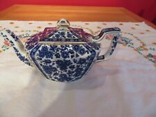 Lovely Antique  China Small  Blue & White Tea pot damaged spout