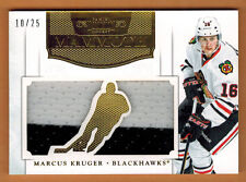 2011-12 ,PANINI ,DOMINION , MARCUS KRUGER , CARD #6 , MAMMOTH JERSEY ,PRIME ,/25