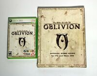 The Elder Scrolls IV: Oblivion (Microsoft Xbox 360, 2008) & Official Game Guide