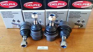 Range Rover P38 2X upper and 2X lower Delphi ball joints FTC3570D & FTC3571D