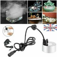 Ultrasonic Mist Maker Fogger Fountain Pond Atomizer Humidifier Aquarium Decor UK