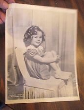 Shirley Temple in Paramount Pictures Photo on thin paper stock