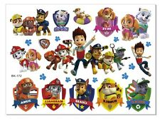 KIDS Temporary Tattoo PAW PATROL Great for Party Bags