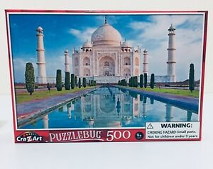 Taj Mahal In Sunrise Light - 500 Piece PuzzleBug Jigsaw Puzzle, 46cm x 28cm, new