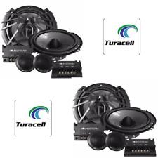 "4 Soundstream AC.6 Arachnid 300 Watts 6.5"" 2-Way Component Speaker Tweeters"