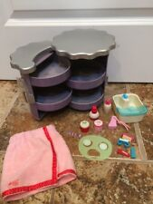 American Girl Beauty Station & Our Generation Spa Set Cute Set
