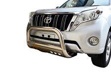"Bullbar Nudge Bar S/S 304 3"" Grille Skid Guard for Toyota Prado 150 09-18"